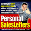 Thumbnail Personal Sales Letters