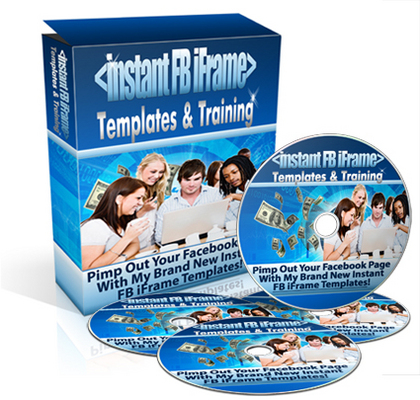 Product picture Instant Facebook Templates-MRR