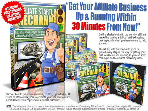 Product picture Affiliate Startup Mechanic Master Resell Rights