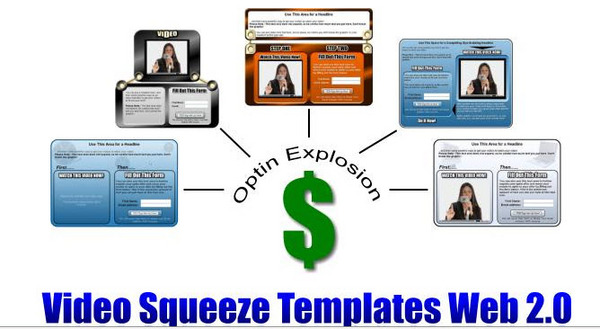 Product picture 5 New Video Squeeze Templates-PLR