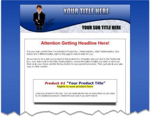 Product picture MiniSite GraFX Pro-PLR