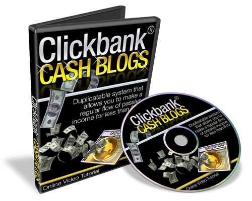 Product picture Clickbank Review Cash Blogs-MRR