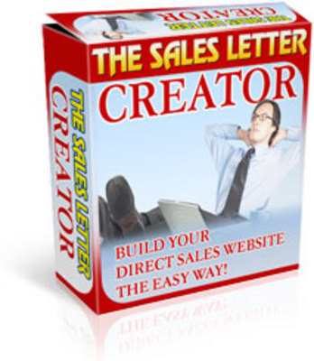 Product picture Sale Letter Creation-MRR