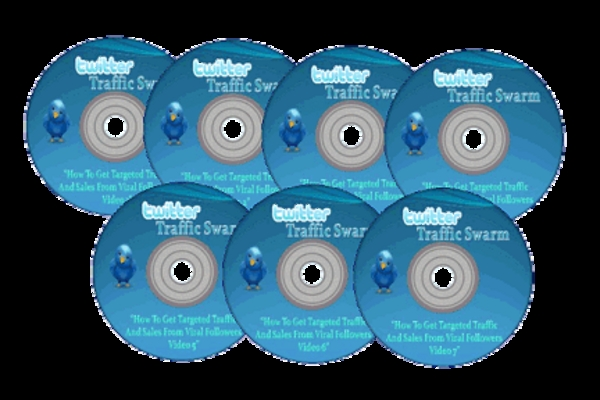Product picture Twitter Traffic Swarm-with Master Resell Rights