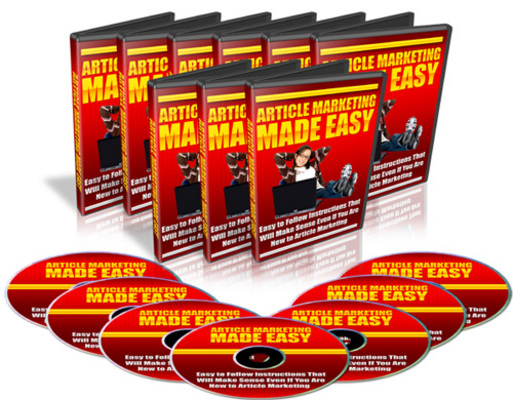 Product picture Artical Marketing Made Easy-MRR