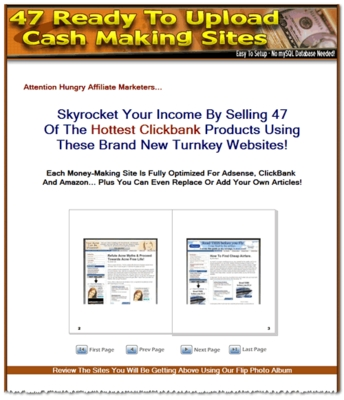 Product picture 47 Ready Made Clickbank Website